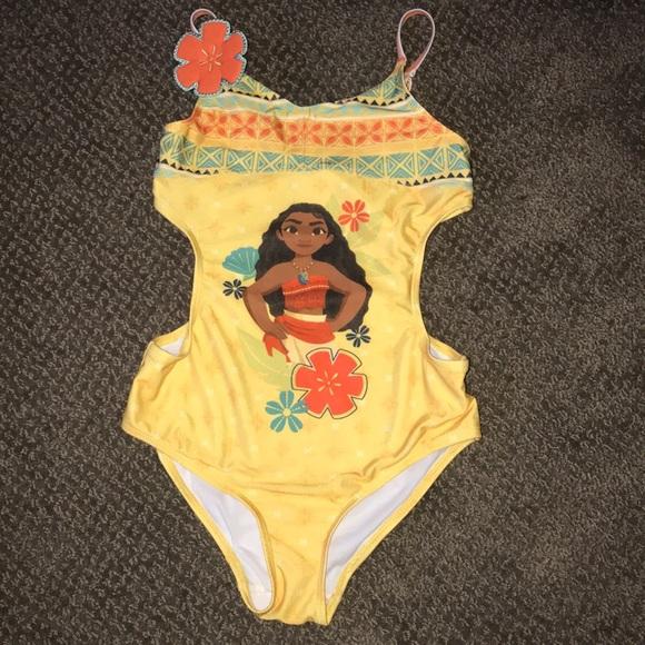 1cd18434ba Disney Swim | Moana One Piece Bathing Suit | Poshmark
